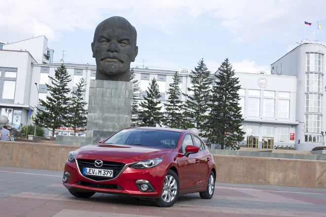 Mazda3'ler Baykal'a ulaştı