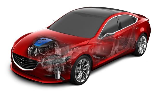 Mazda elektrik santrali: i-ELOOP