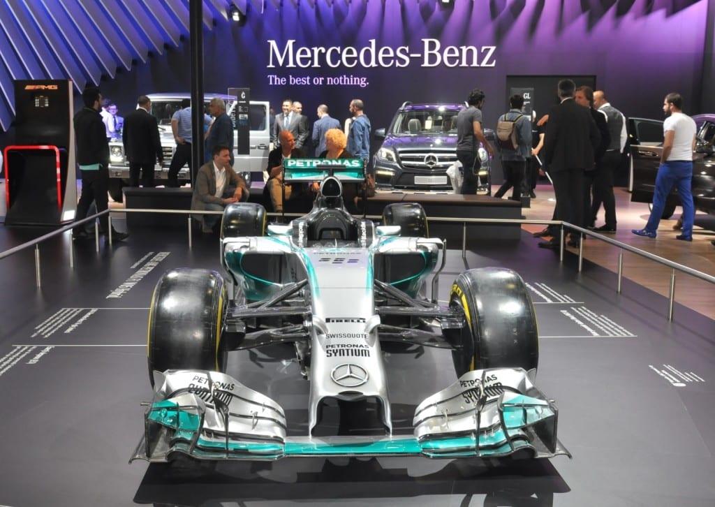 Mercedes-AMG Petronas 2014 F1 Dünya ?ampiyonu Gümü? Ok Arac?