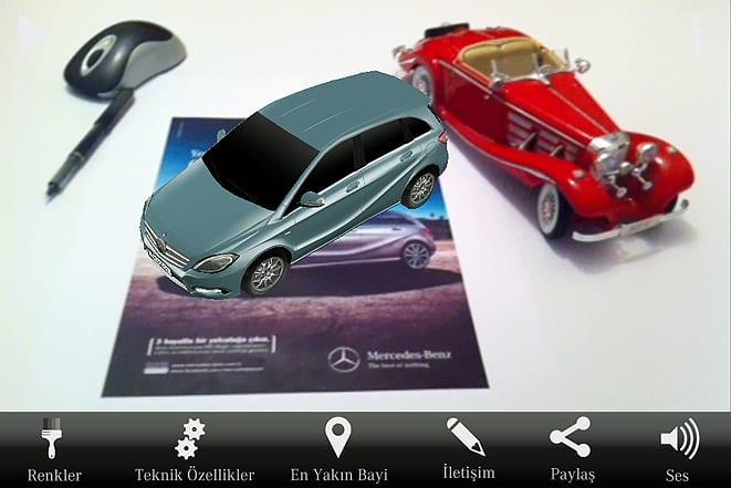 Mercedes-Benz Magic uygulaması