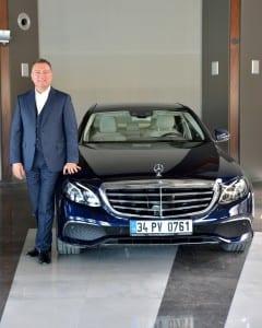 Mercedes-Benz Otomobil Grubu Pazarlama ve Satış Türkiye Direktörü Şükrü Bekdikhan