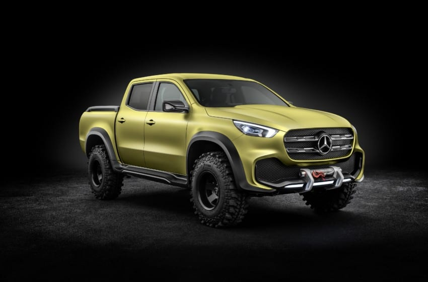 İlk premium pikap Mercedes'ten, üretim Renault'dan