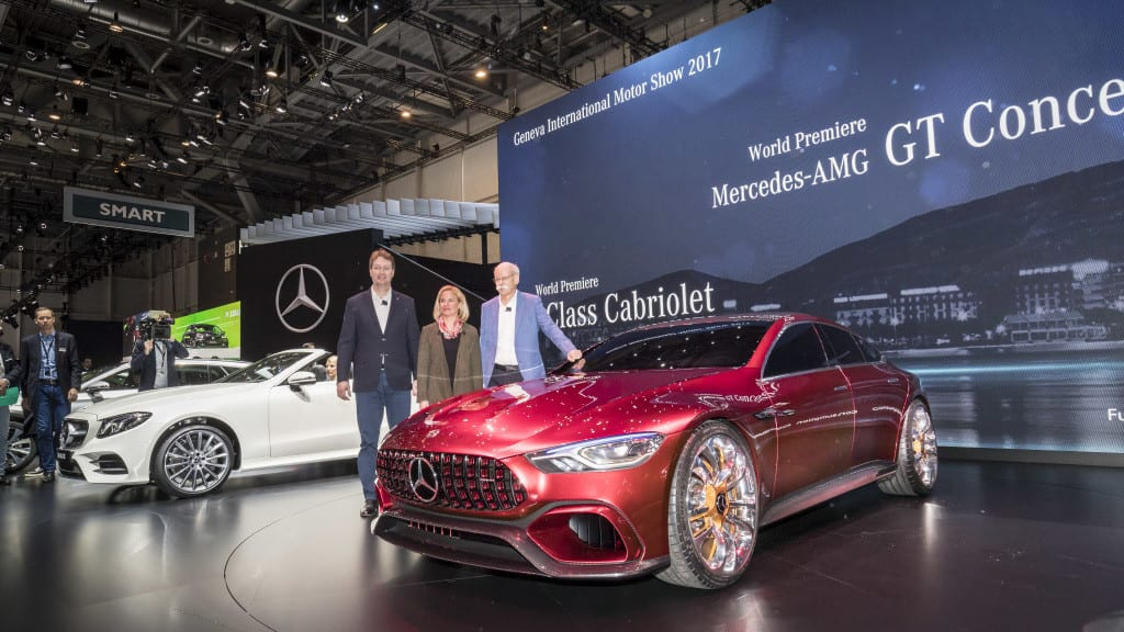 Mercedes-Benz Internationalen Automobil-Salon Genf 2017: