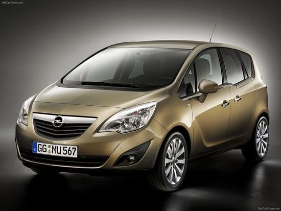 En sorunsuz minivan Opel Meriva