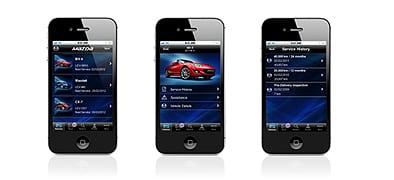 Mazda'dan akıllı telefon uygulaması