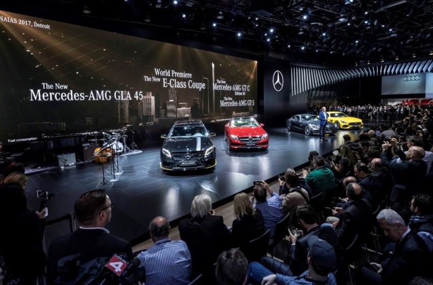 Mercedes'ten Detroit çıkartması