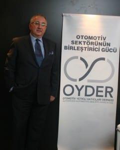 OYDER Yönetim Kurulu Başkanı Şükrü Ilısal