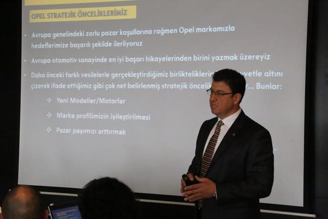 Opel Türkiye Gn Md Özcan Keklik-