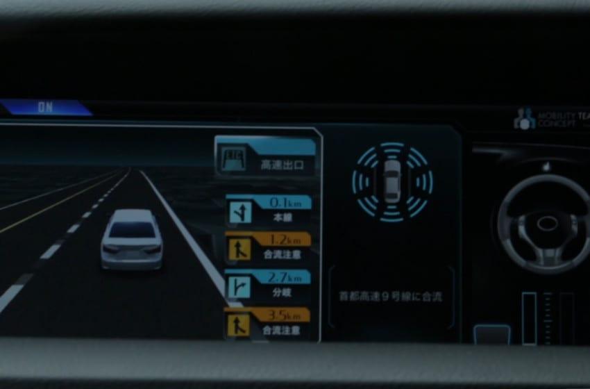 Lexus yeni otonom  sürüş teknolojisini tanıttı