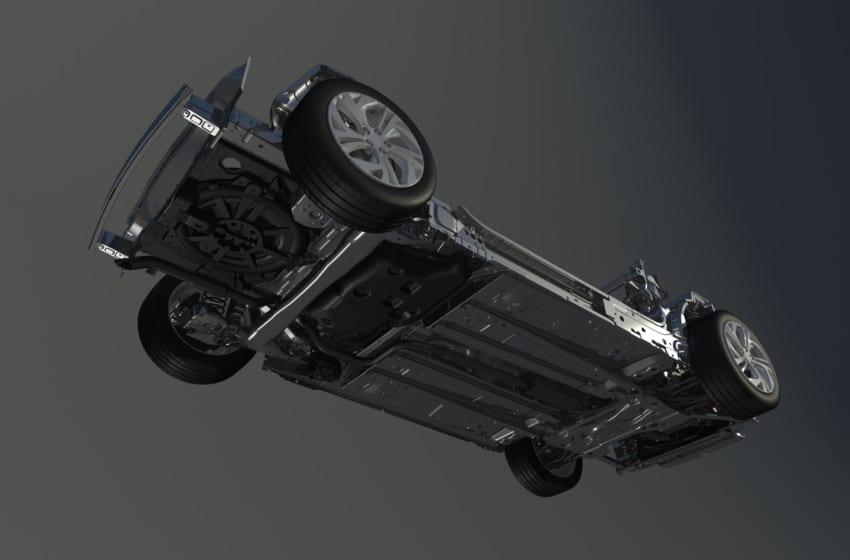 Citroën'in uçan şasi teknolojisi!