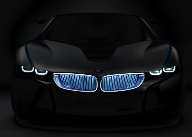 Tom Cruise BMW Vision EfficientDynamics kullanıyor