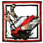 Red Mudder Foulard by MINI & DSQUARED