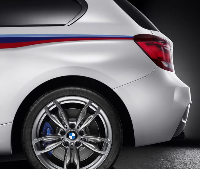 Ve assolist sahneye çıkıyor: BMW M135i