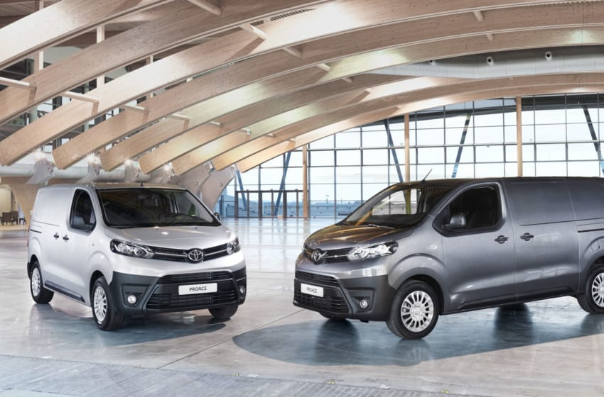 İşte yeni Toyota PROACE VAN
