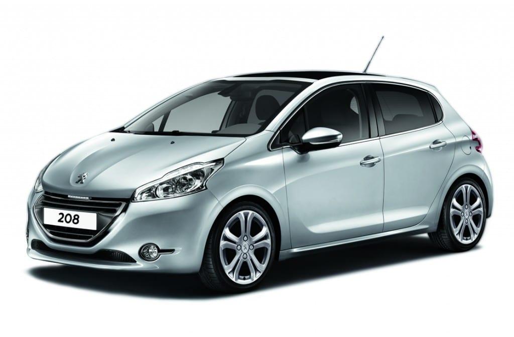 Peugeot 208 ETG www.e-motoring.com
