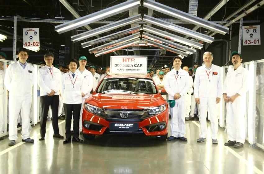 Honda Türkiye 20. üretim yılını kutluyor