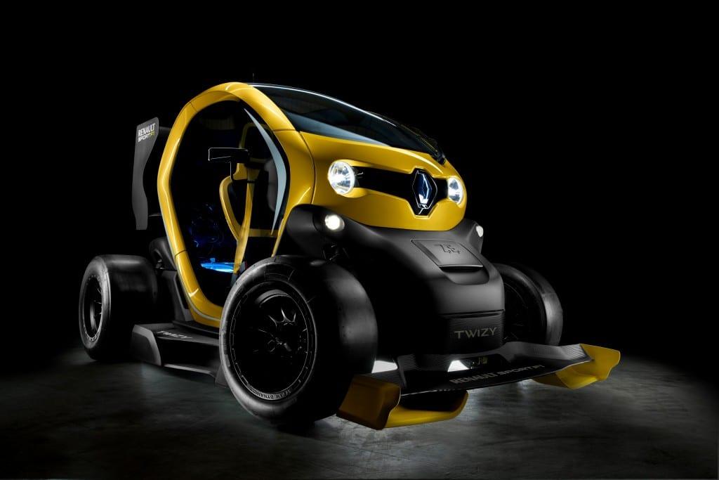 Twizy Renault Sport F1 www.e-motoring.com