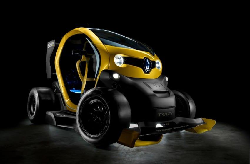 Renault'dan ileri Twizy fantazisi