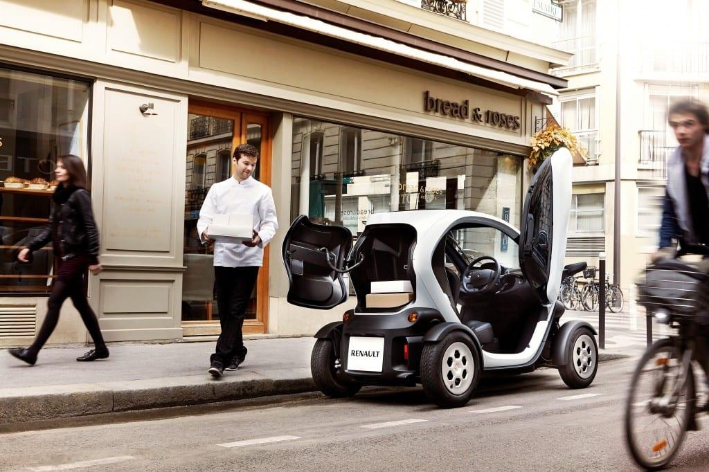 Renault Twizy Cargo www.e-motoring.com