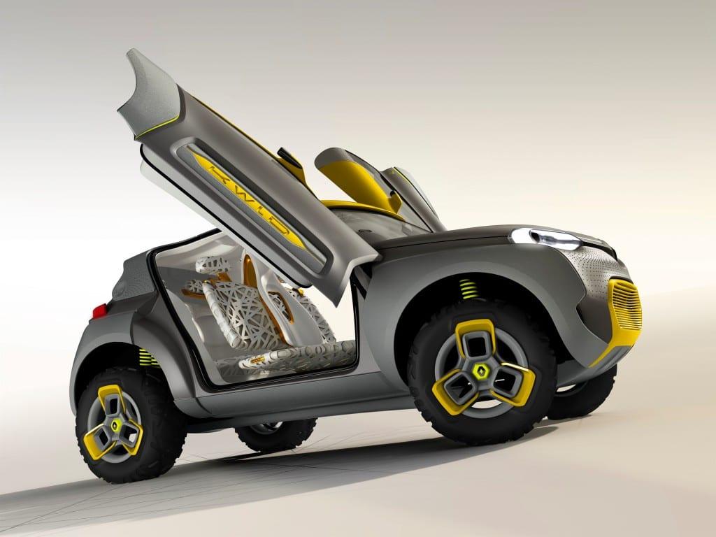 Renault KWID Concept www.e-motoring.com