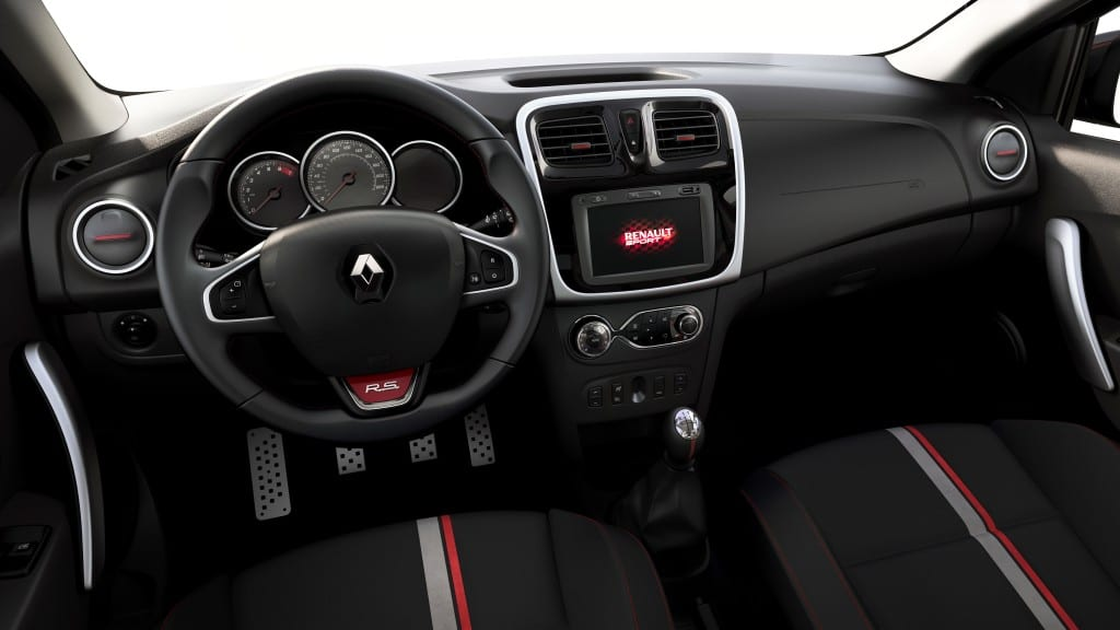 Renault Sandero R.S. www.e-motoring.com