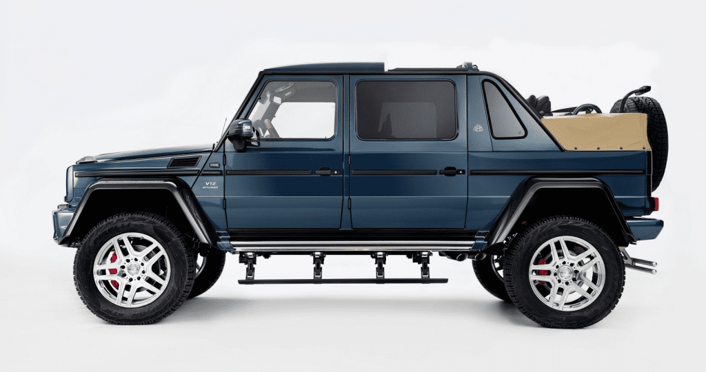 Mercedes Maybach G650 Landaulet'