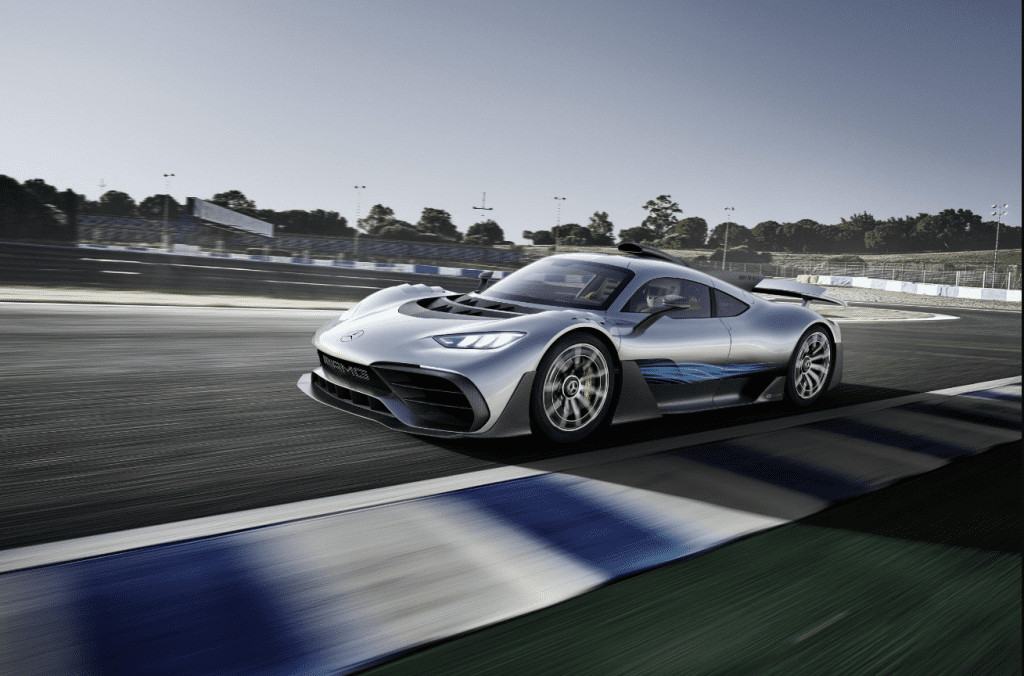 The Mercedes-AMG Project ONE