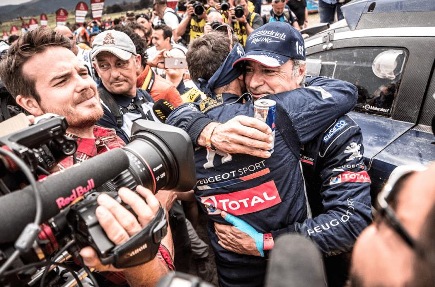 Dakar'da zafer Peugeot 3008DKR Maxi'nin
