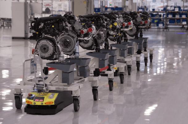 SEAT üretim merkezinde 125 robot işbaşında