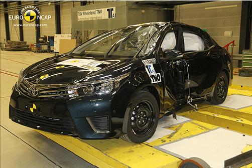 Corolla'nın 5 yıldızlı güvenliği onaylandı