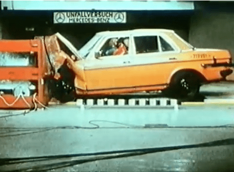 vintage crash tests