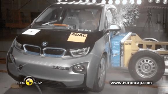 BMW i3 çarpışma testlerinde şaşırttı…