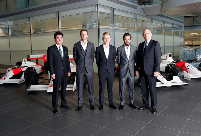 McLaren-Honda pilotları