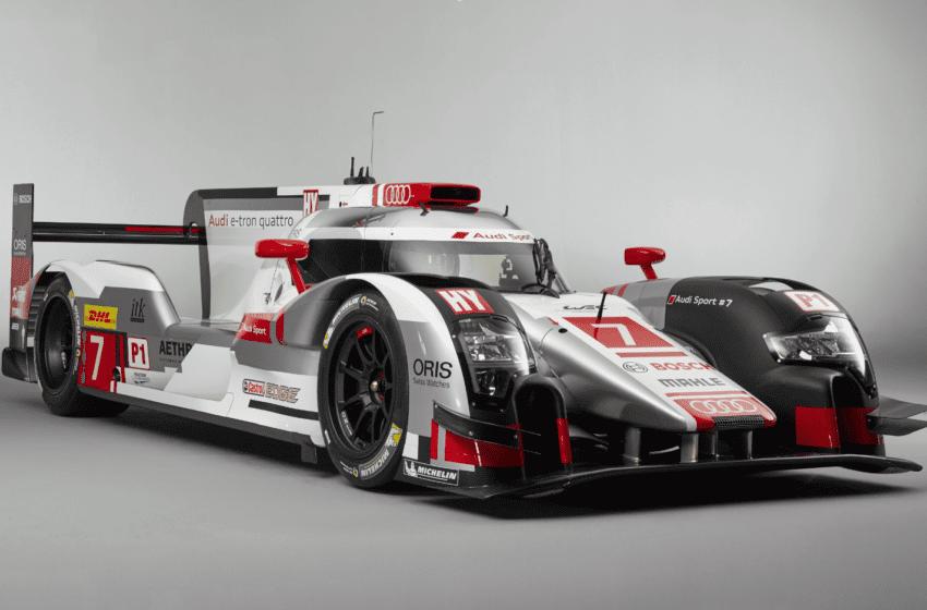 Audi yeni Le Mans aracını tanıttı