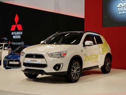 Mitsubishi ASX dizel fuarda ilgi odağı