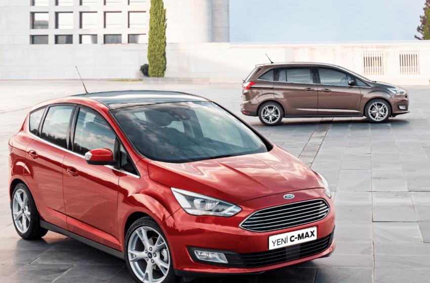 Yeni Ford C-MAX ve Grand C-MAX satışa sunuluyor