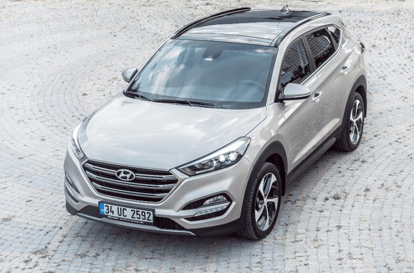 Hyundai'nin modern yüzü yeni Tucson piyasada