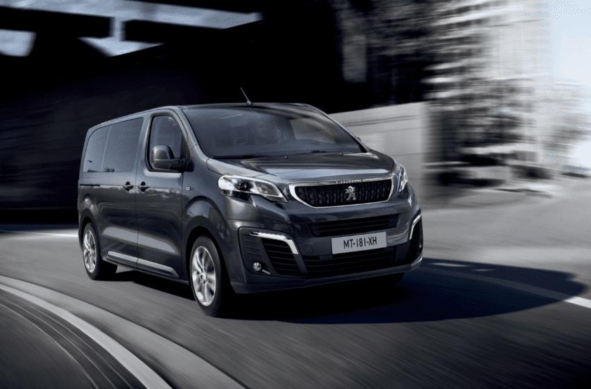 Peugeot Traveller'i tanıtacak