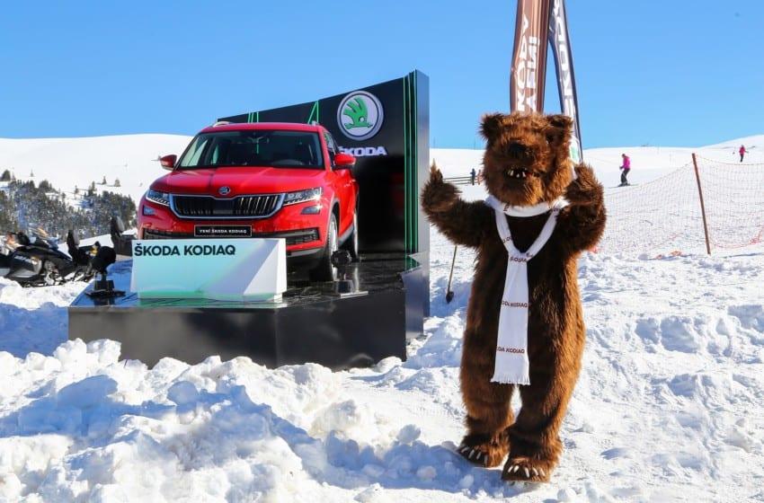 Kodiaq WhiteFest 2017'nin yıldızı oldu