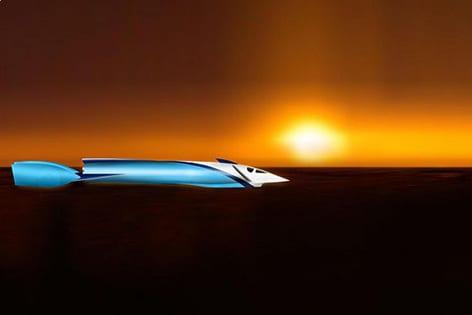 Fossett'in süpersonik kara aracı hala satılık!..