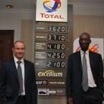 Total Oil Türkiye Genel Müdürü Antoine Tournand - Total Grubu ?kmal ve Pazarlama Bölümü Afrika ve Ortado?u Ba?kan?  Momar Nguer