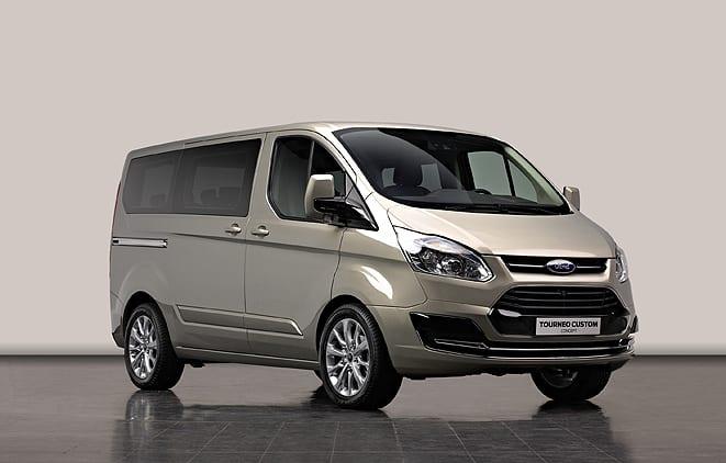 Tourneo Custom Concept tanıtıma hazır