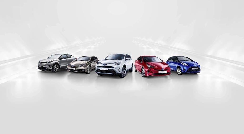 Toyota Hybrid Urun Gami