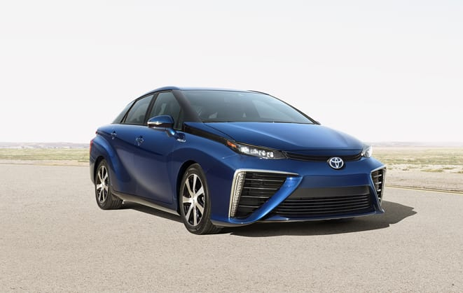 Toyota Mirai Fuel Cell Sedan www.e-motoring.com