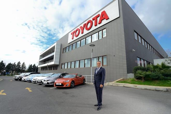 Toyota Pazarlama ve Satış A.Ş. CEO_ Ali Haydar Bozkurt www.e-motoring.com