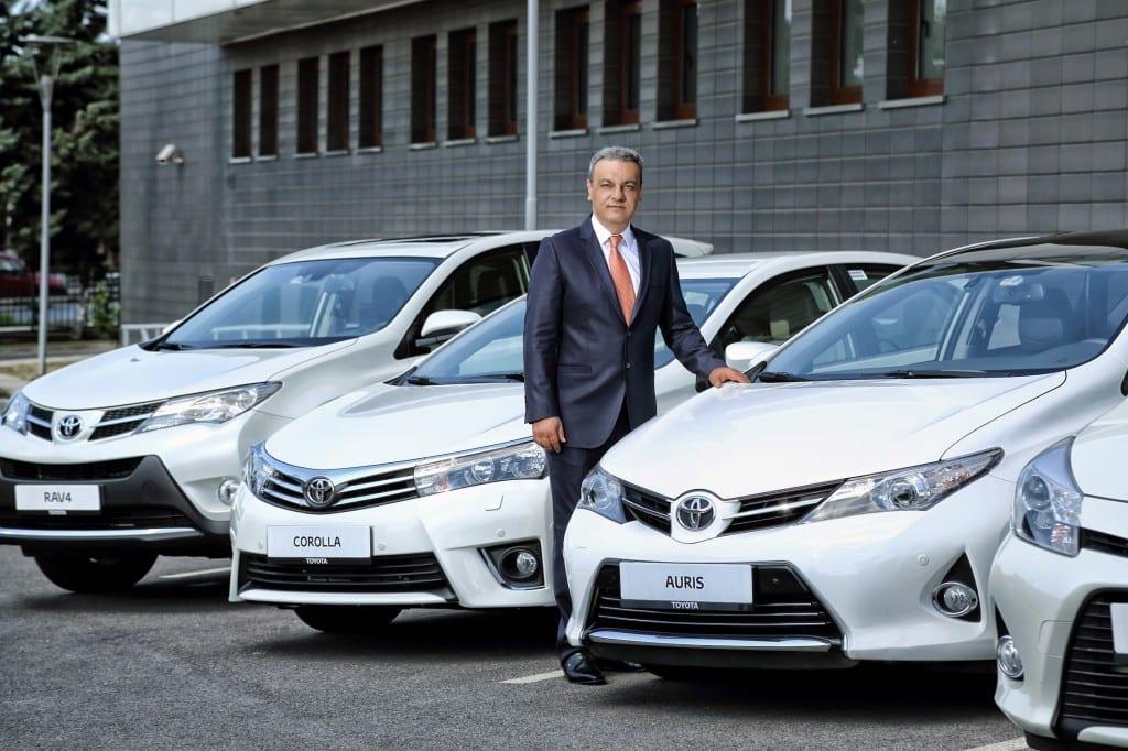 Toyota Türkiye Pazarlama ve Sat?? A.?. CEO'su Ali Haydar Bozkurt www.e-motoring.com