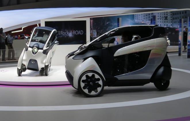 Toyota iROAD www.e-motoring.com