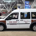 First Ford Transit Connect Taxi Delivered to Boston Cab Dispatch