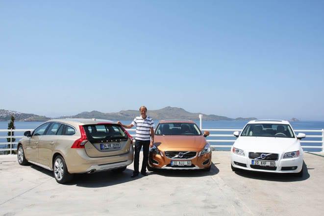 Volvo'nun en iyi üçlüsü Türkiye'de: S60, V60 ve S80 DRIVe Powershift