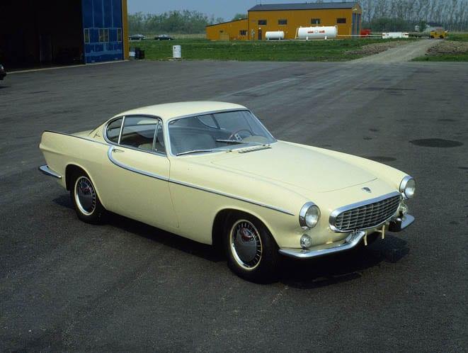 Volvo P1800 50 yaşında